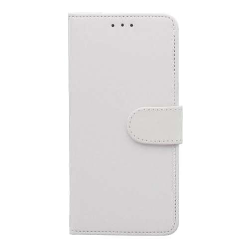 Motorola Moto E5 Plus Telefoonhoesje Wit met Pasjeshouder