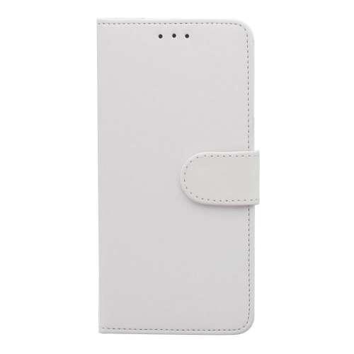 Motorola Moto E5 Telefoonhoesje Wit met Pasjeshouder