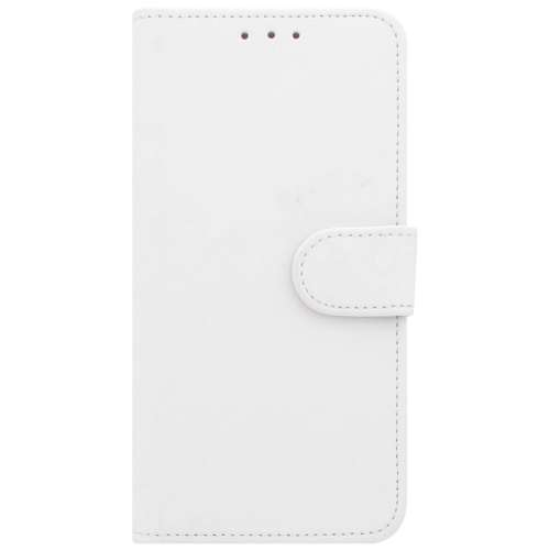 Motorola Moto G6 Play Telefoonhoesje Wit met Pasjeshouder