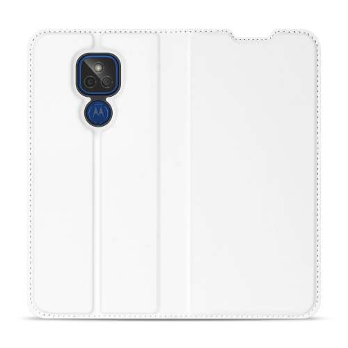 Motorola Moto G9 Play Book Cover Wit met Pasjehouder