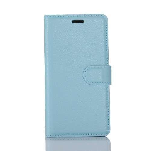 Nokia 6 Hoesje Blauw met opbergvakjes