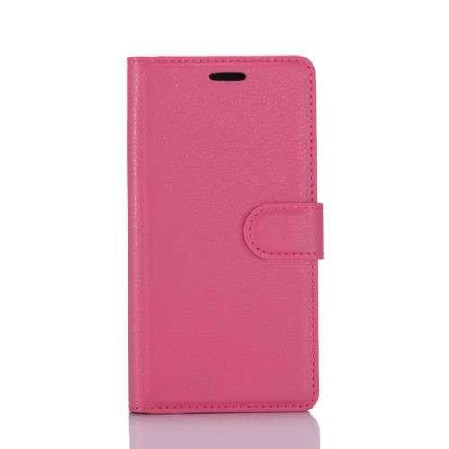Nokia 6 Hoesje Roze met opbergvakjes