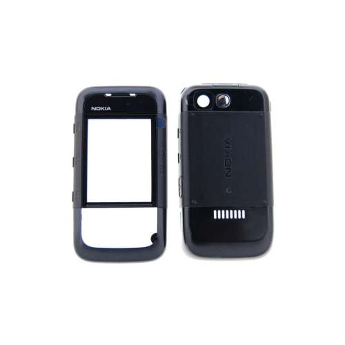 Nokia Cover 5300 XpressMusic all Black Origineel