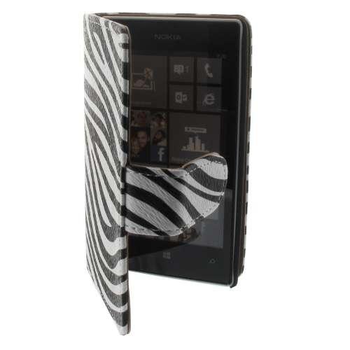 B2Ctelecom Nokia Lumia 520 Bookstyle Hoesje Zebra