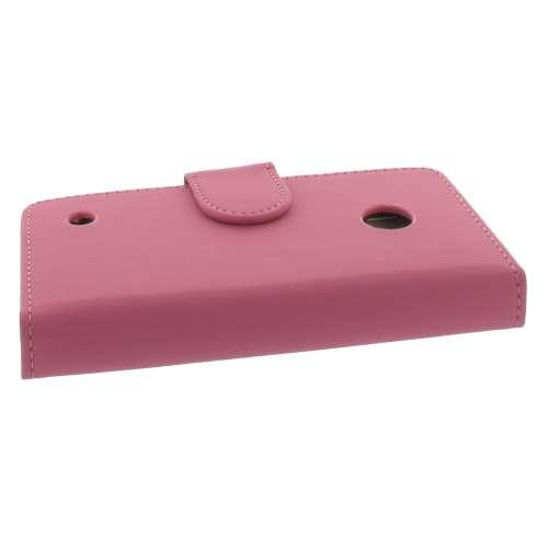 Nokia Lumia 530 Bookstyle Hoesje Roze