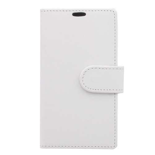 Nokia Lumia 625 Hoesje Wit met Opbergvakjes