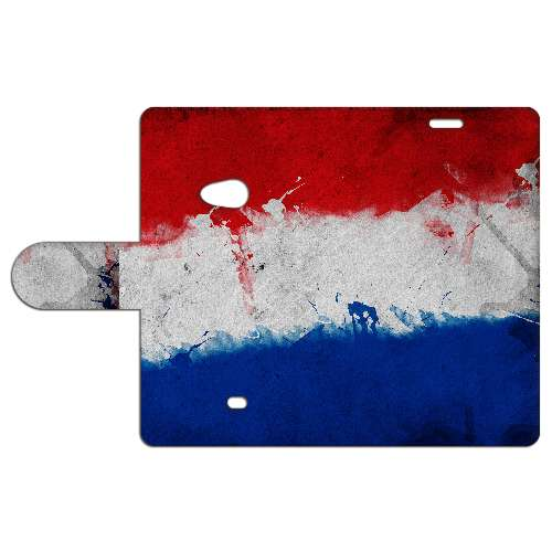 Nokia Lumia 625 Uniek Boekhoesje Nederlandse Vlag