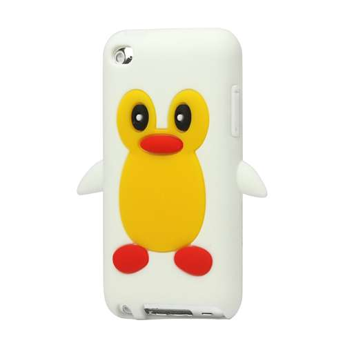 Penguin Silicone Case Apple iPod Touch 4 White