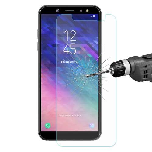 GEEN Samsung Galaxy A6 (2018) Screen Protector Glas Hoge Kwaliteit
