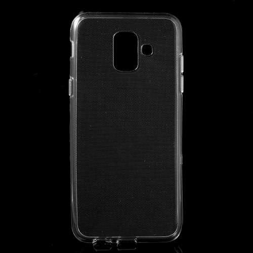 Samsung Galaxy A6 (2018) TPU Hoesje Transparant