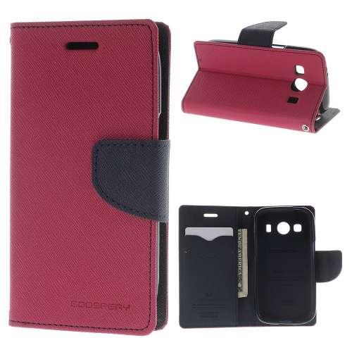 Samsung Galaxy Ace 4 Hoesje Roze met Opbergvakjes, G357-FZ