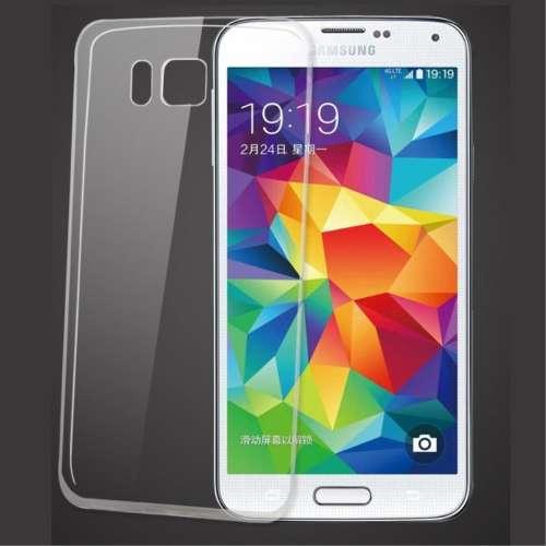 Samsung Galaxy Alpha Transparant Telefoonhoesje extra smal