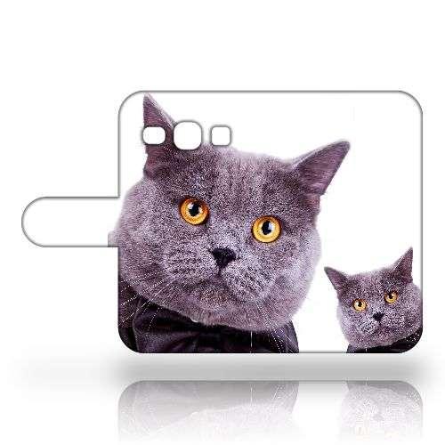 Samsung Galaxy Core Plus Uniek Design Hoesje Kat B2Ctelecom