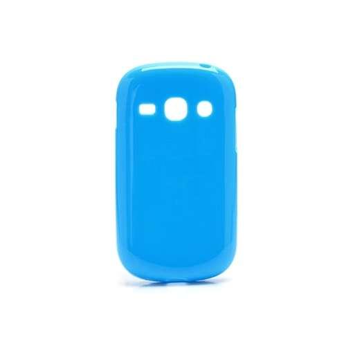 B2Ctelecom Samsung Galaxy Fame S6810 TPU Case Glossy Blauw
