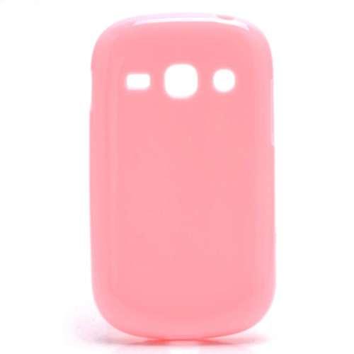 B2Ctelecom Samsung Galaxy Fame S6810 TPU Case Glossy Lichtroze