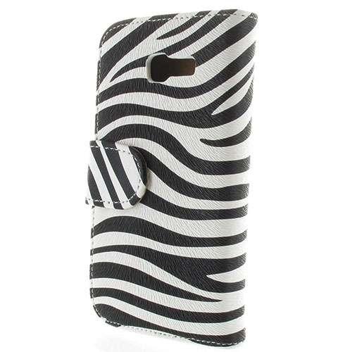 Samsung Galaxy Fresh S7390-S7392 Bookstyle Hoesje Zebra