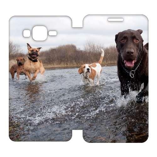 Samsung Galaxy Grand Prime Uniek Hoesje Honden