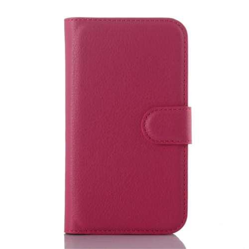 Samsung GalaxyJ1 Ace Hoesje Roze met Opbergvakjes, J110
