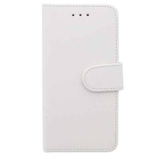 Samsung Galaxy J3 Boekhoesje Met Opbergvakjes Wit