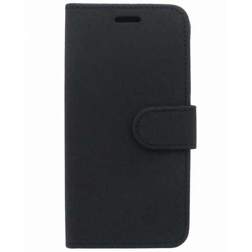 Samsung Galaxy J3 Boekhoesje Met Opbergvakjes Zwart