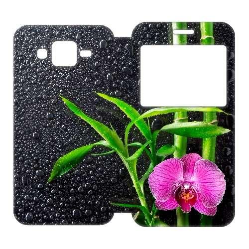 Samsung Galaxy J5 Uniek Telefoonhoesje Orchidee