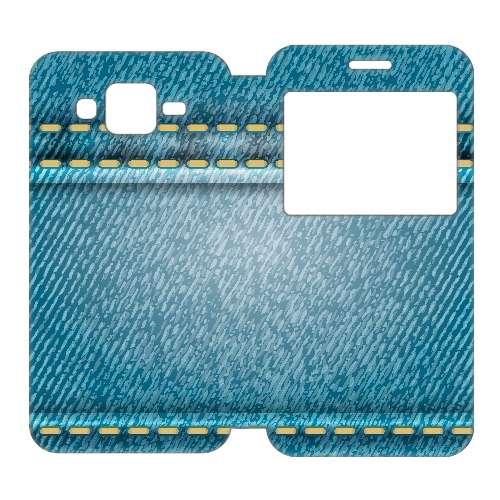 Samsung Galaxy J5 Uniek Telefoonhoesje Spijkerbroek