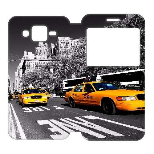 Samsung Galaxy J5 Uniek Telefoonhoesje Taxi