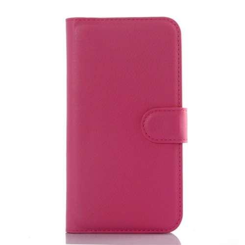 Samsung Galaxy J5 Hoesje Roze met Opbergvakjes