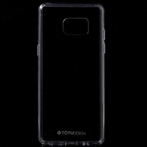Samsung Galaxy Note 4 Transparant Telefoonhoesje Ultra Smal