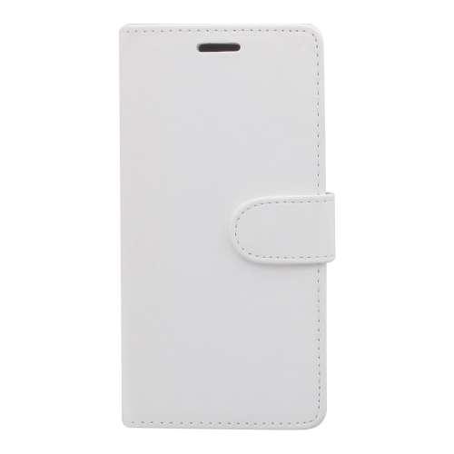 Samsung Galaxy Note 5 Boekhoesjes Wit met Opbergvakje