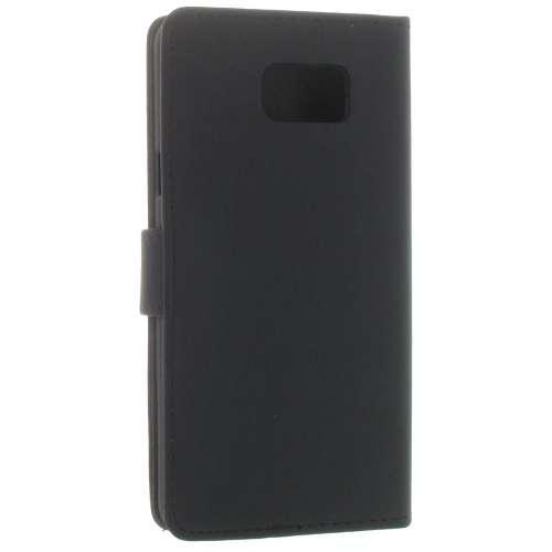 Samsung Galaxy Note 5 Boekhoesjes Zwart met Opbergvakje