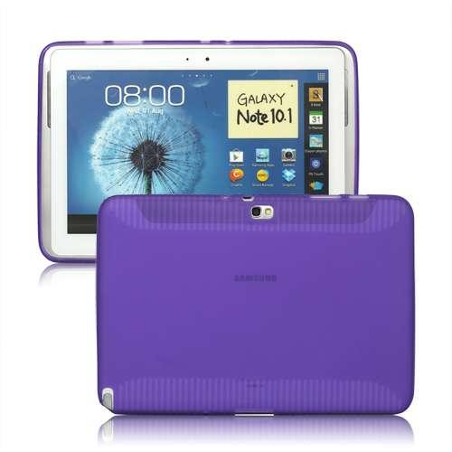 Samsung Galaxy Note N8000 10.1 Matte TPU Case Paars