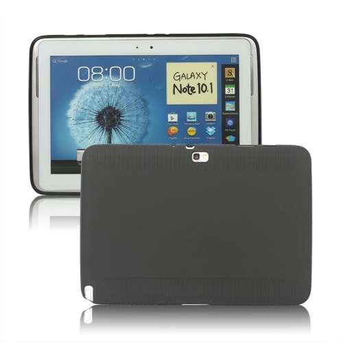 Samsung Galaxy Note N8000 10.1 Matte TPU Case Zwart B2Ctelecom