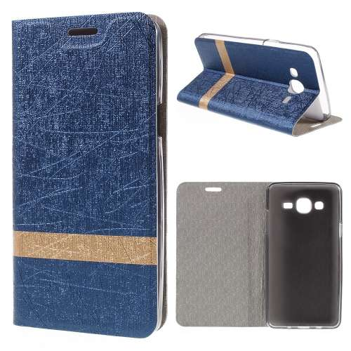Samsung Galaxy On5 Hoesje Blauw (binnenkant rubber)