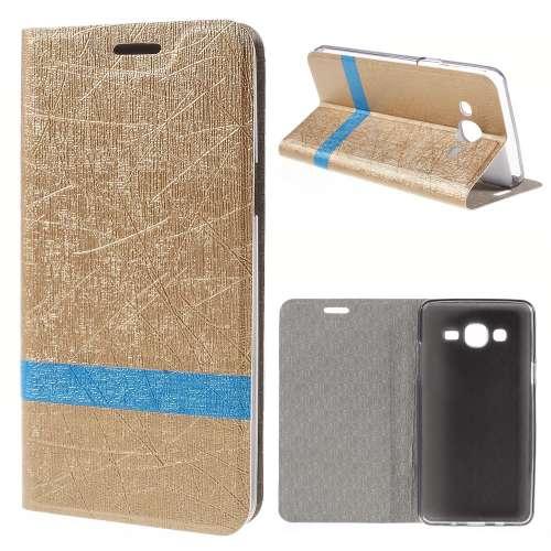 Samsung Galaxy On5 Hoesje Goud (binnenkant rubber)