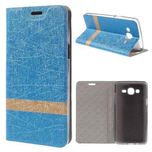 Samsung Galaxy On5 Hoesje Lichtblauw (binnenkant rubber)
