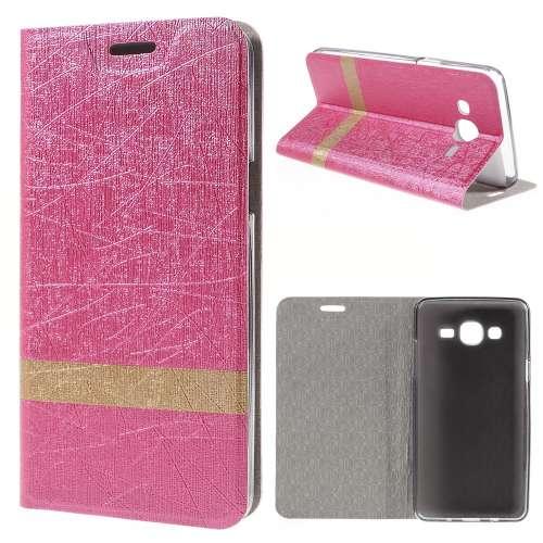 Samsung Galaxy On5 Hoesje Roze (binnenkant rubber)