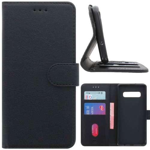 1a60059c30d Samsung Galaxy S10e Hoesje Zwart met Pasjeshouder