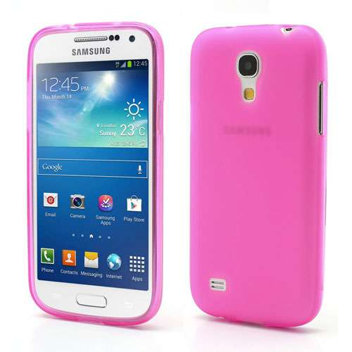 Samsung Galaxy S4 i9190 Mini TPU Hoesje Frosted Roze