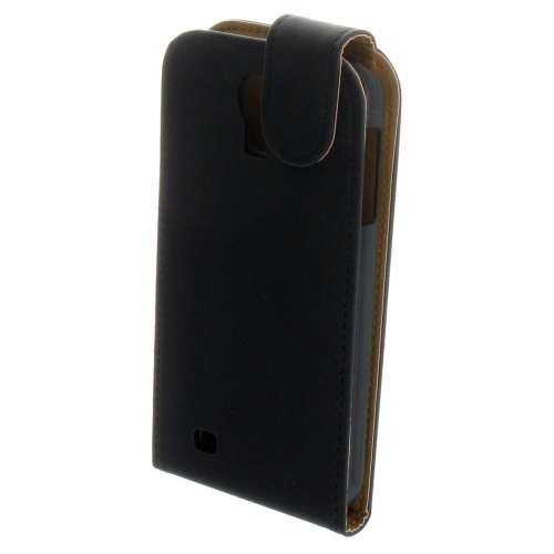 Samsung Galaxy S4 i9500 Fliphoesje Case Matt Black