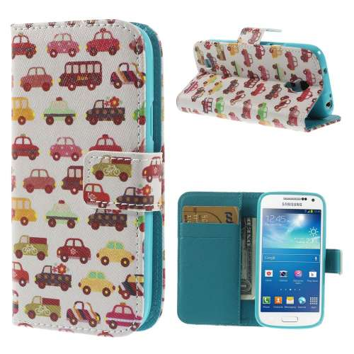 Samsung Galaxy S4 Mini Stand Case Hoesje Cars