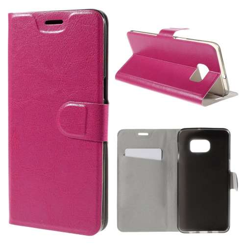 Samsung Galaxy S6 Edge Plus Hoesje Roze met Flexibele Houder
