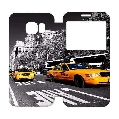 Samsung Galaxy S6 Edge Uniek Hoesje Taxi