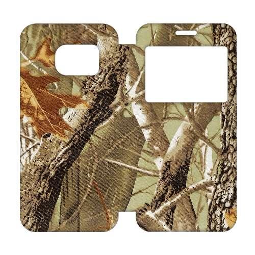 Samsung Galaxy S7 Edge Telefoonhoesje Camouflage met Venster