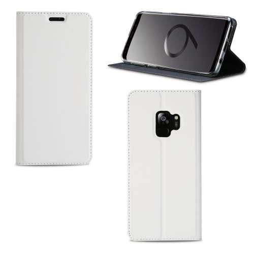 Samsung Galaxy S9 Hoesje Wit met Standaardfunctie