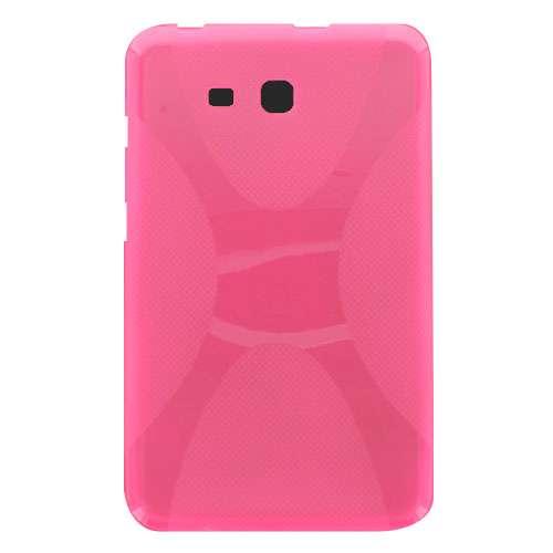 B2Ctelecom Samsung Galaxy Tab 3 Lite 7.0 TPU X Shape Roze