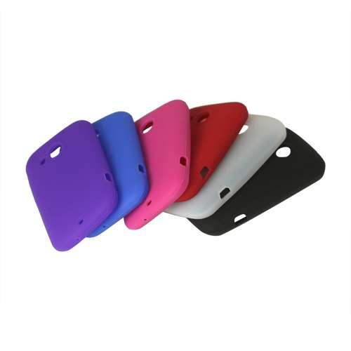 Silicone Hoesje Samsung Galaxy Pocket S 5300 Rood