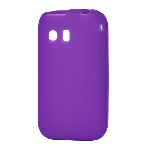 Silicone Hoesje Samsung Galaxy Pocket S5300 Paars