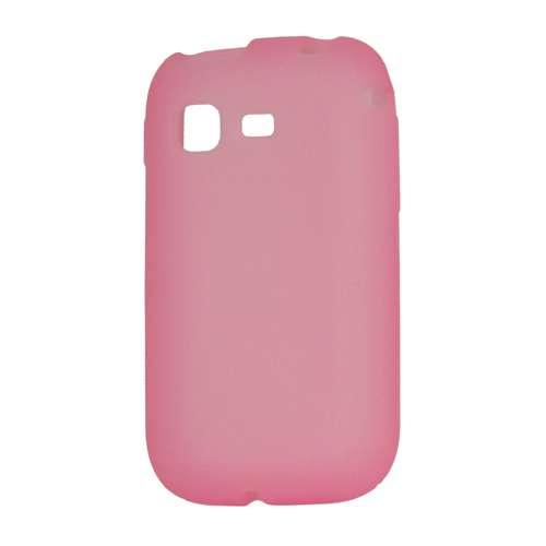 Silicone Hoesje Samsung Galaxy Pocket S5300 Pink