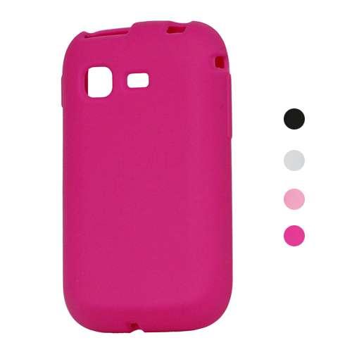 Silicone Hoesje Samsung Galaxy Pocket S5300 Roze